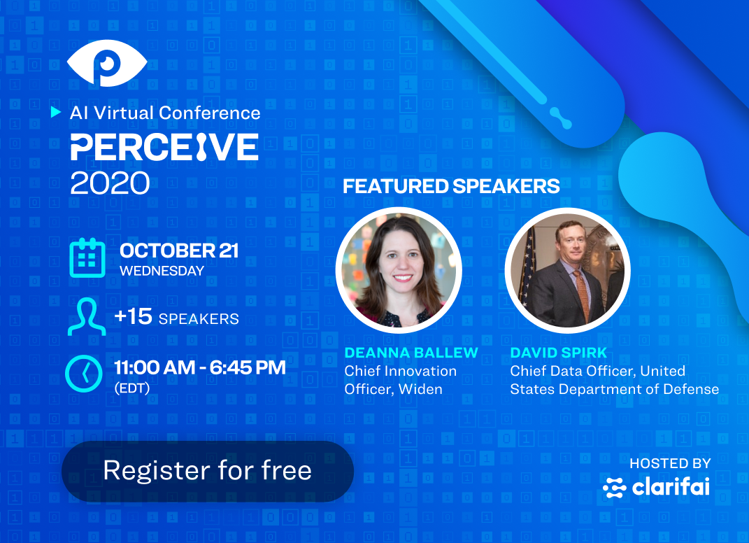 Perceive 2020 AI Conference