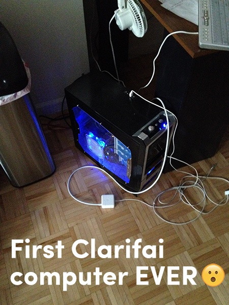 FirstClarifaiComputer