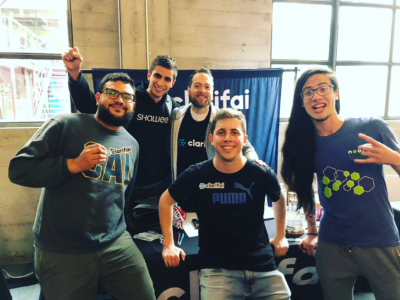Team Genie and Skip at the DeveloperWeek SF Hackathon